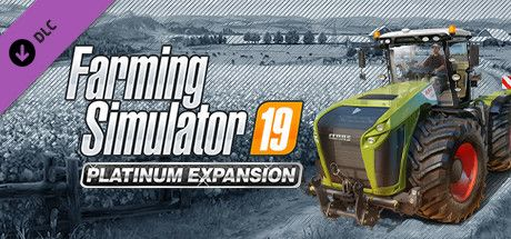 Clickable image taking you to the Steam store page for the Platinum Expansion DLC for Farming Simulator 19