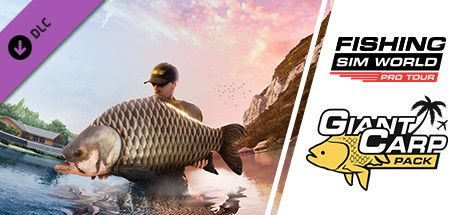 Clickable image taking you to the Steam store page for the Giant Carp Pack DLC for Fishing Sim World
