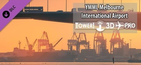 Clickable image taking you to the Steam store page for the YMML airport DLC for Tower!3D Pro
