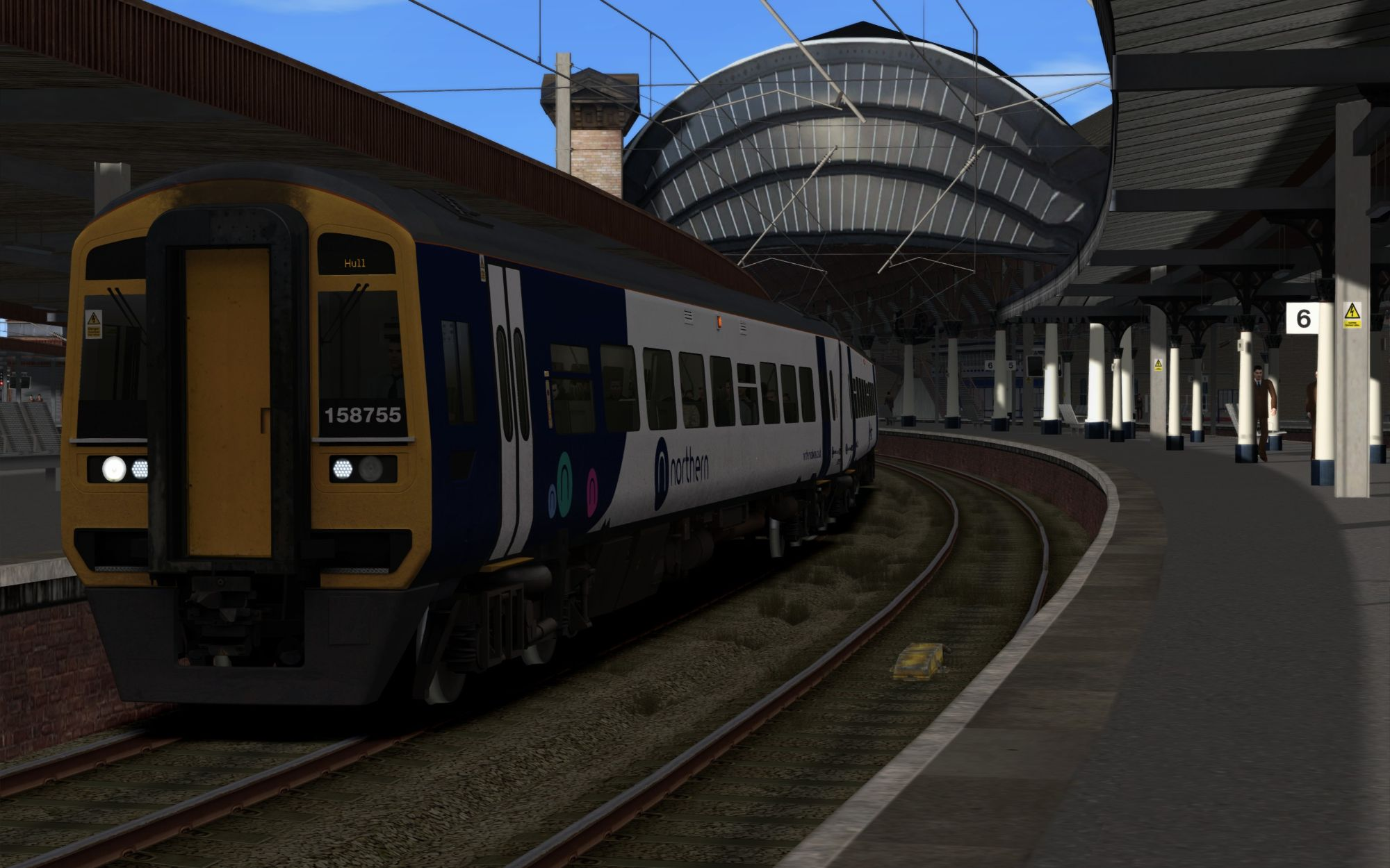 Image showing screenshot of the 2R97 - 1850 York to Hull scenario