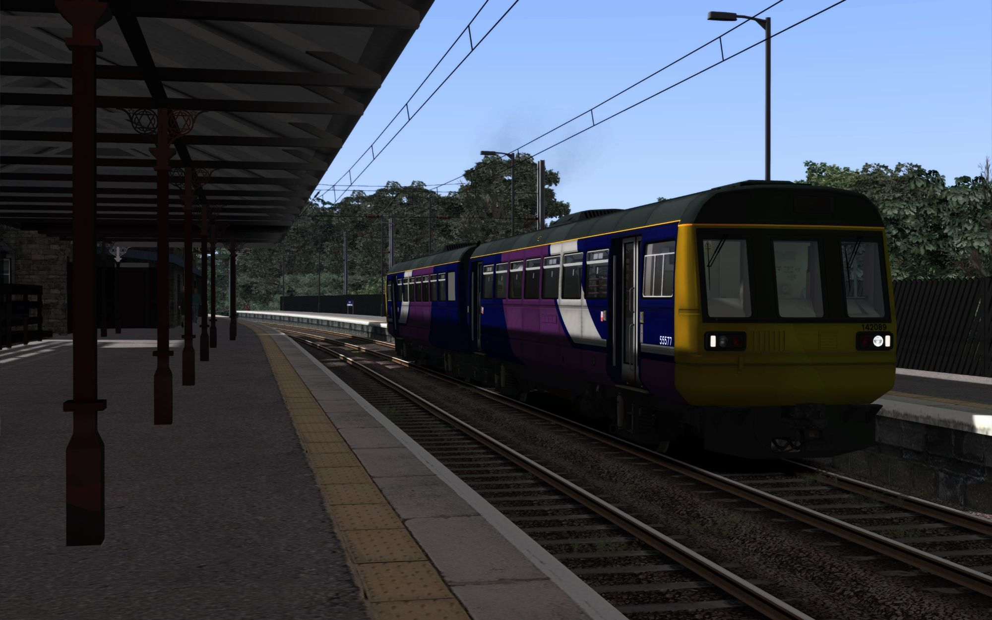 Image showing screenshot of the 2A16 - 1152 Carlisle to Morpeth scenario