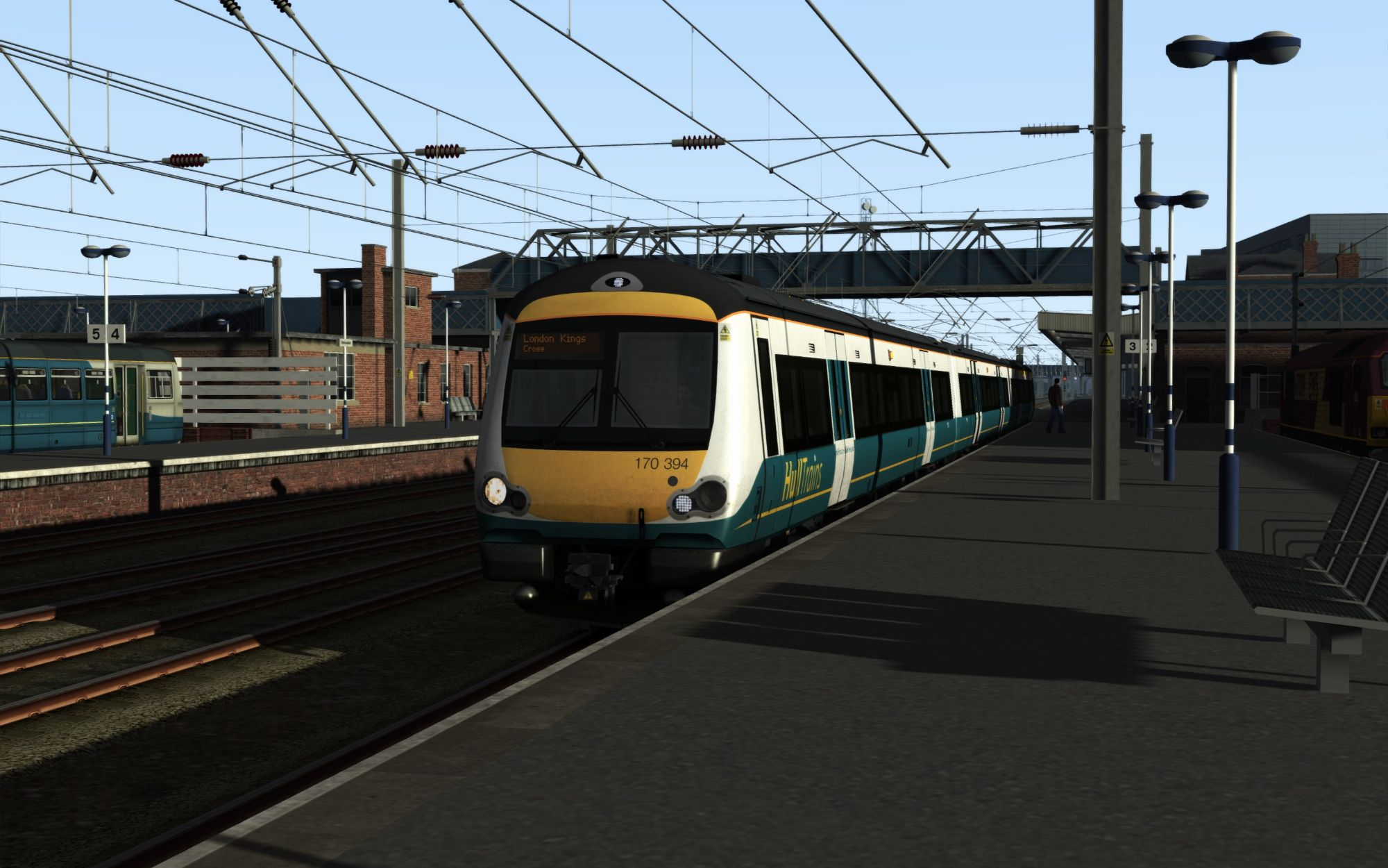 Image showing screenshot of the 1A91 - 0625 Hull to London Kings Cross scenario