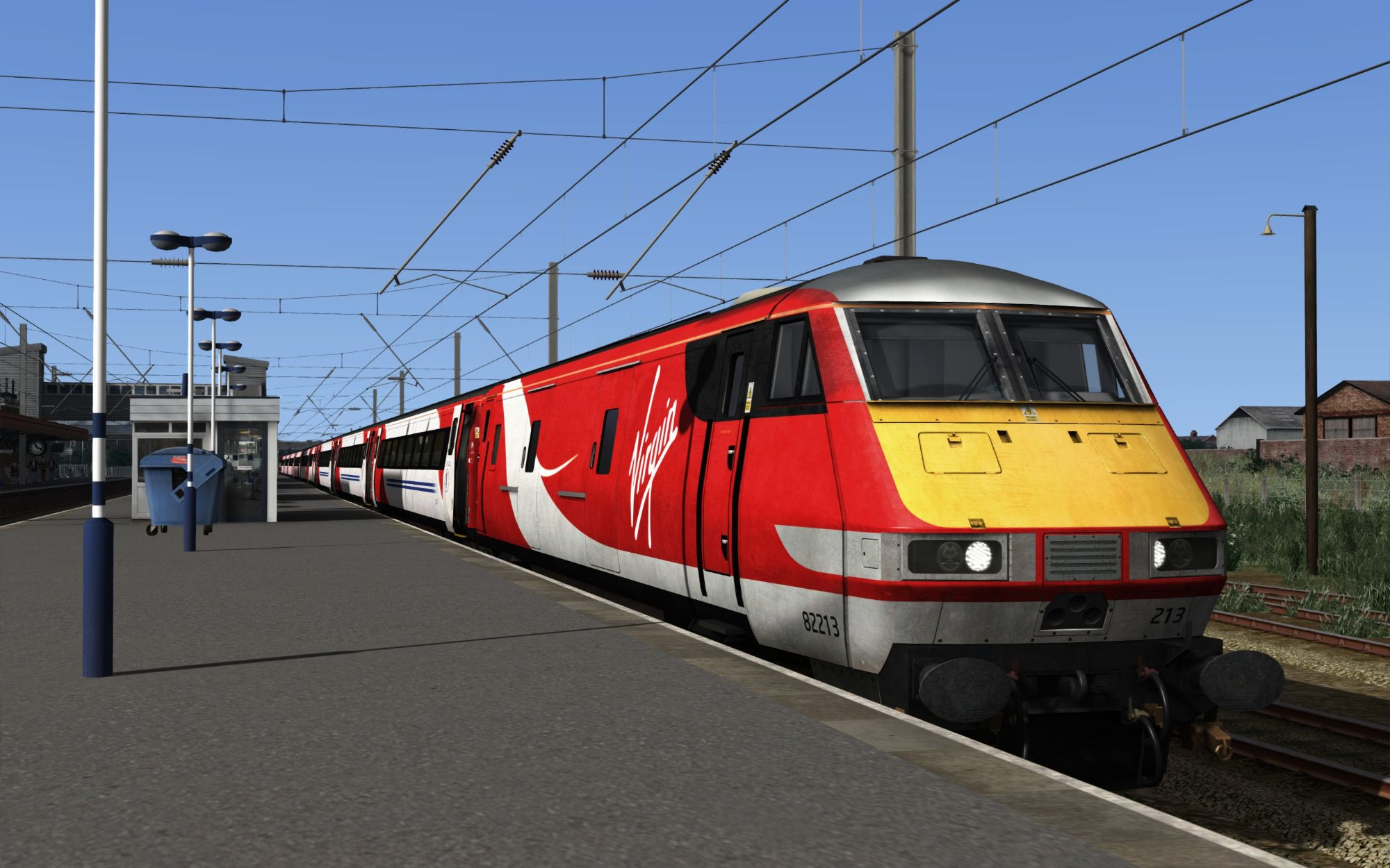 Image showing screenshot of the 1B87 - 1556 Newark North Gate to London Kings Cross scenario