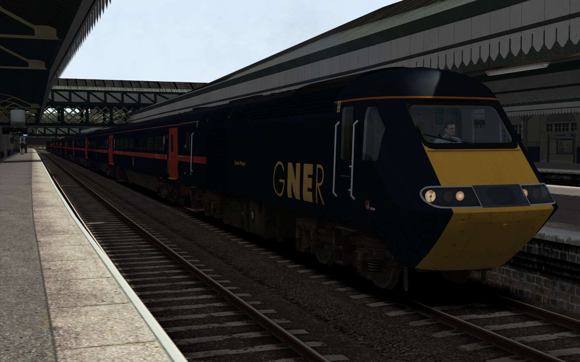 Image showing screenshot of the 1C02 - 0735 Bristol Temple Meads to Paignton scenario