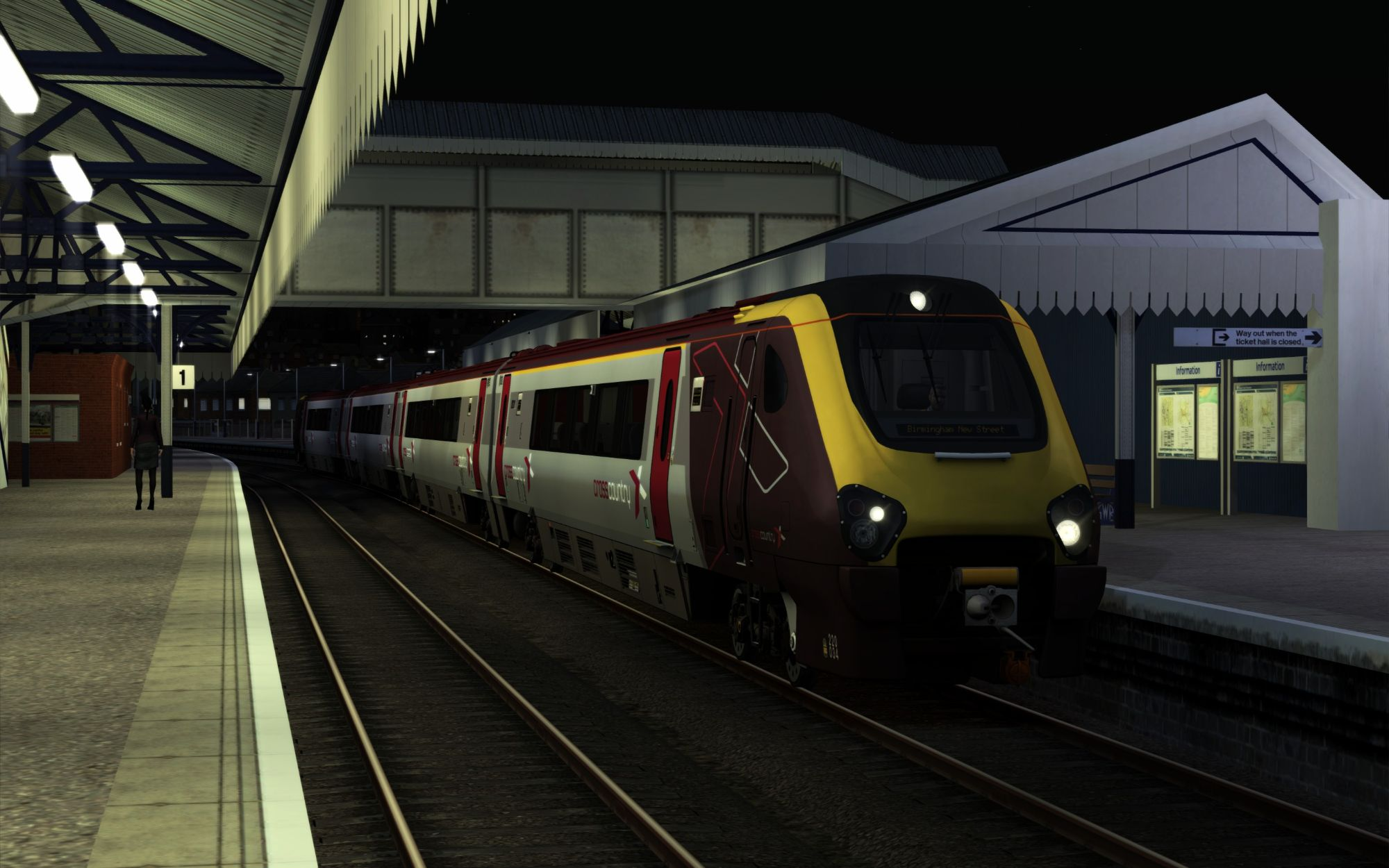 Image showing screenshot of the 1M80 - 2020 Paignton to Birmingham New Street scenario