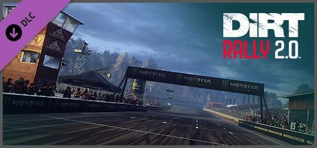 Clickable image taking you to the Steam store page for the Estering, Germany (Rallycross Track) DLC for DiRT Rally 2.0