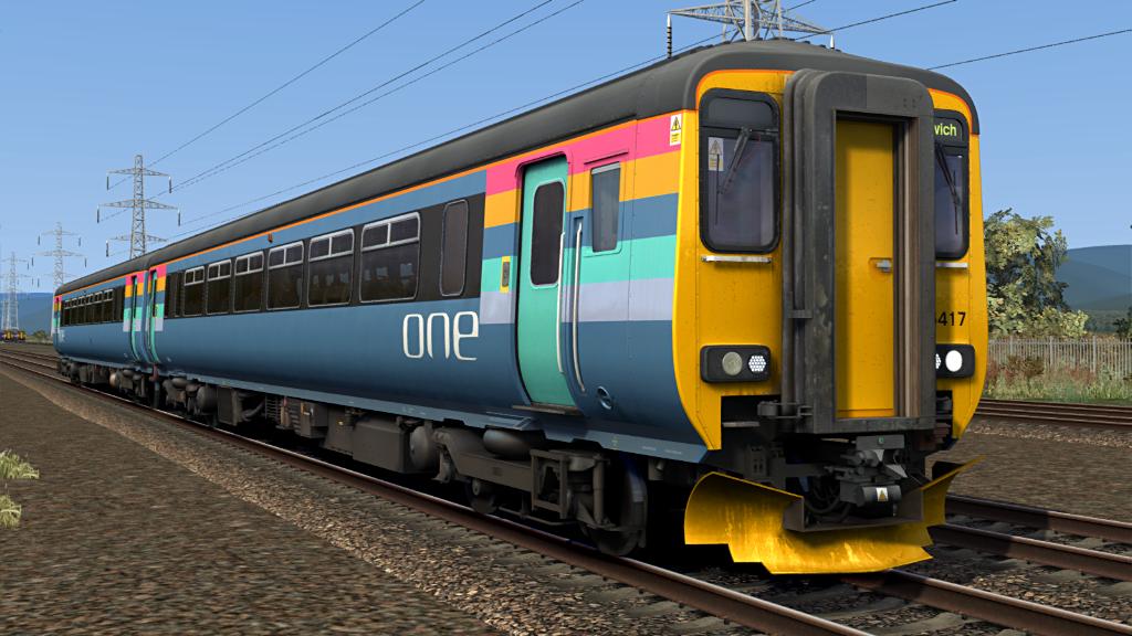 Train Simulator Armstrong Powerhouse Class 156 Pack
