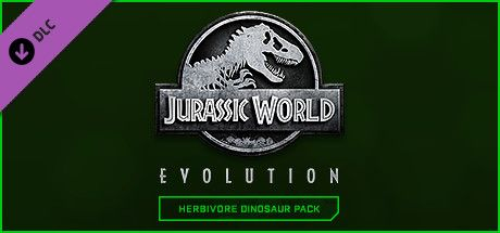 Clickable image taking you to the Steam store page for the Herbivore Dinosaur Pack DLC for Jurassic World Evolution