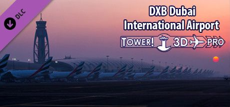 Clickable image taking you to the Steam store page for the OMDB airport DLC for Tower!3D Pro