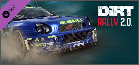 Clickable image taking you to the Steam store page for the SUBARU Impreza (2001) DLC for DiRT Rally 2.0