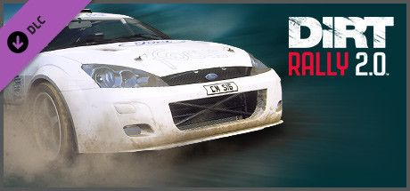 Clickable image taking you to the Steam store page for the Ford Focus RS Rally 2001 DLC for DiRT Rally 2.0