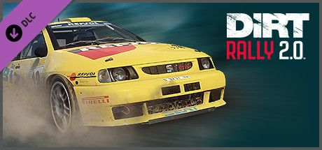 Clickable image taking you to the Steam store page for the Seat Ibiza Kit Car DLC for DiRT Rally 2.0