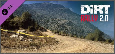 Clickable image taking you to the Steam store page for the Greece (Rally Location) DLC for DiRT Rally 2.0