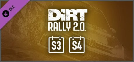 Clickable image taking you to the Steam store page for the Deluxe Upgrade Store Package (Season3+4) DLC for Dirt Rally 2.0.