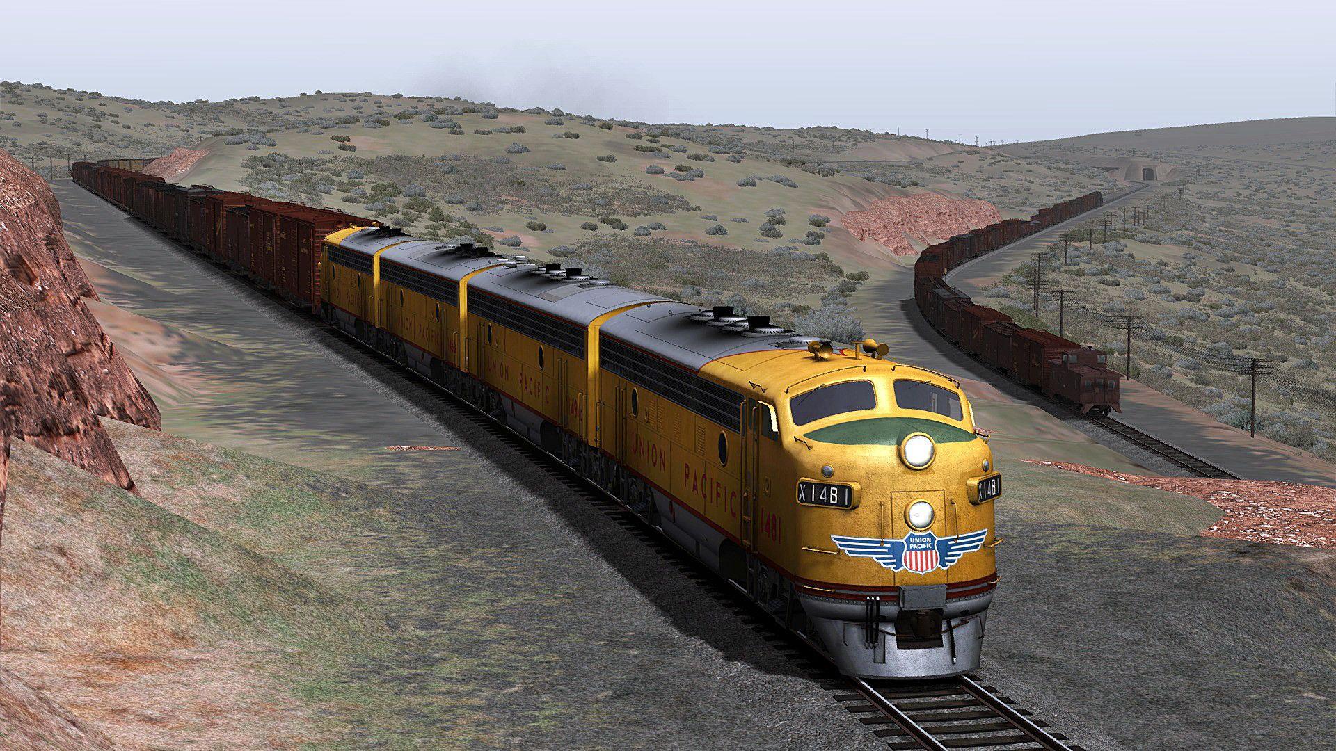 Train Simulator Wasatch Grade