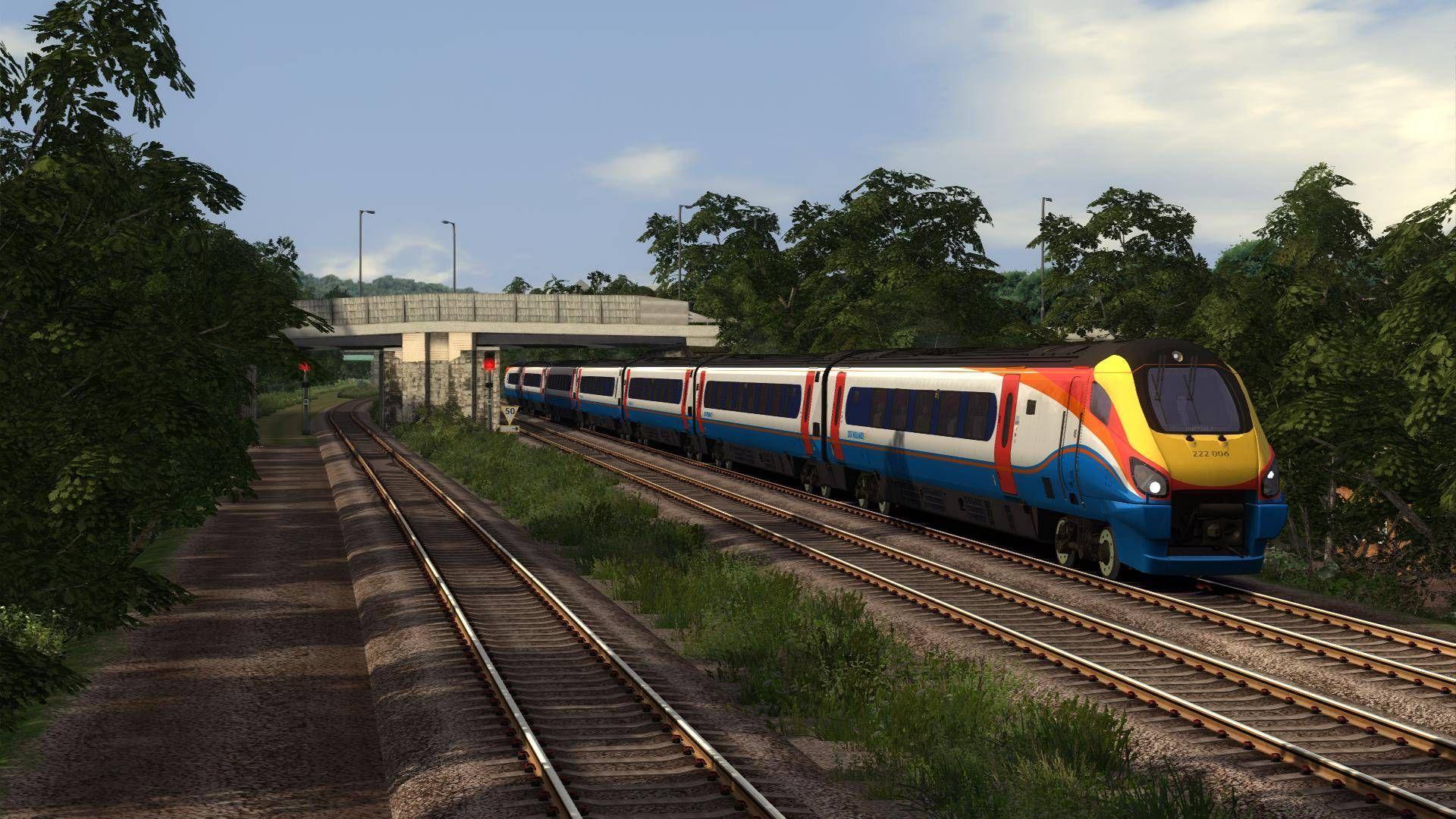 Train Simulator Midland Main Line Sheffield to Derby