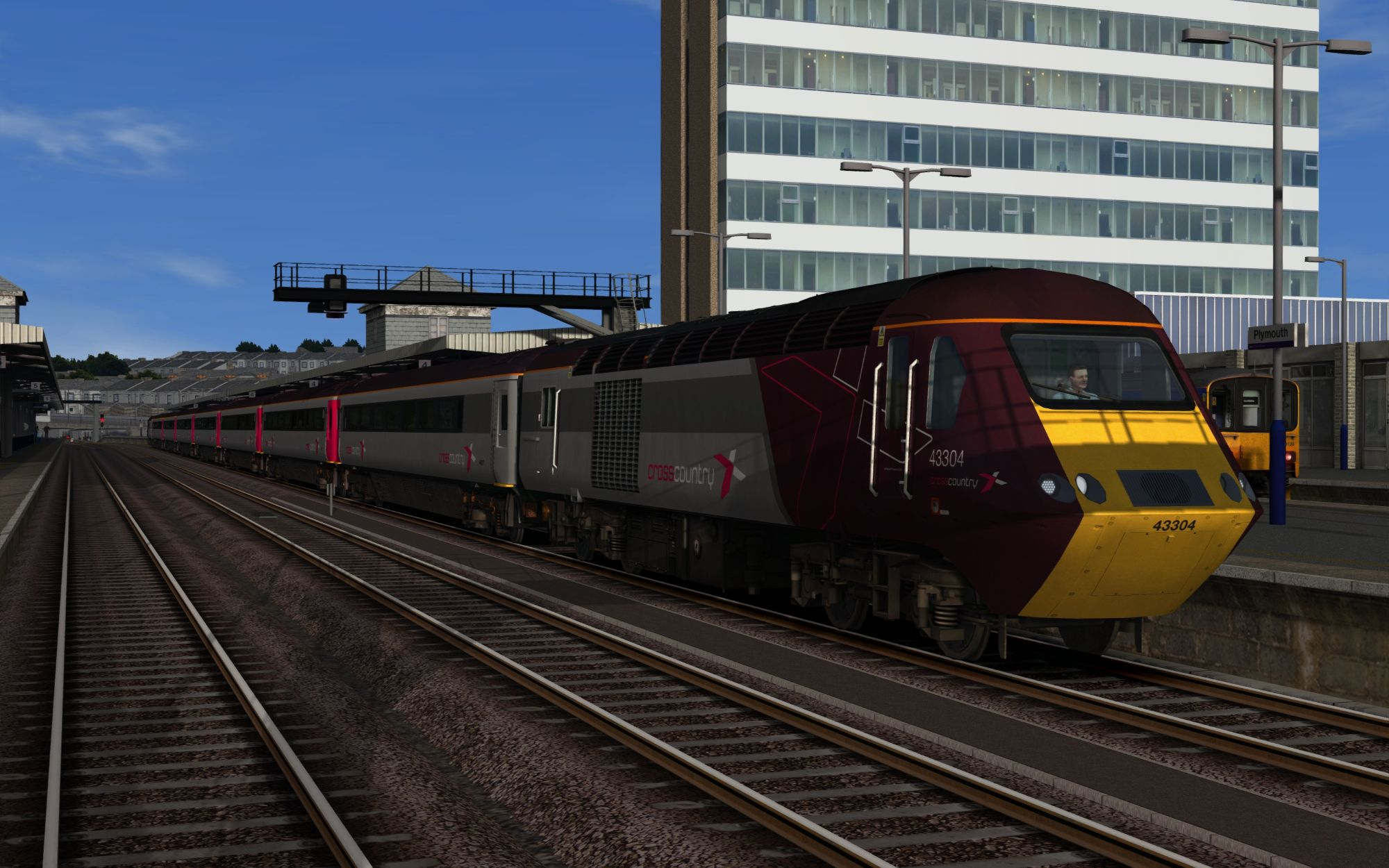Image showing screenshot of the 1V58 - 0900 Glasgow Central to Penzance scenario