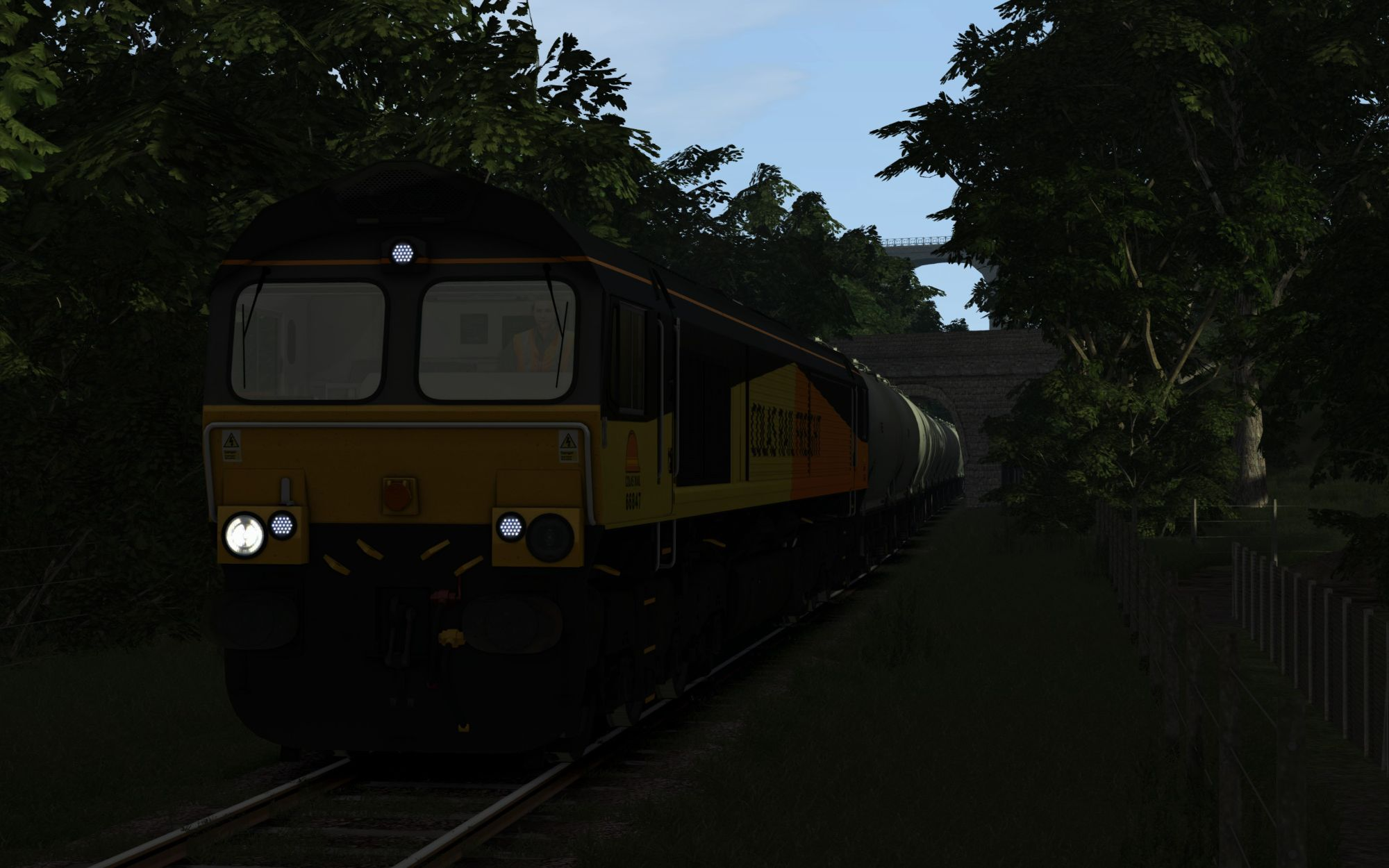 Image showing screenshot of the 6C36 - 0625 Moorswater to Aberthaw Part 1 scenario