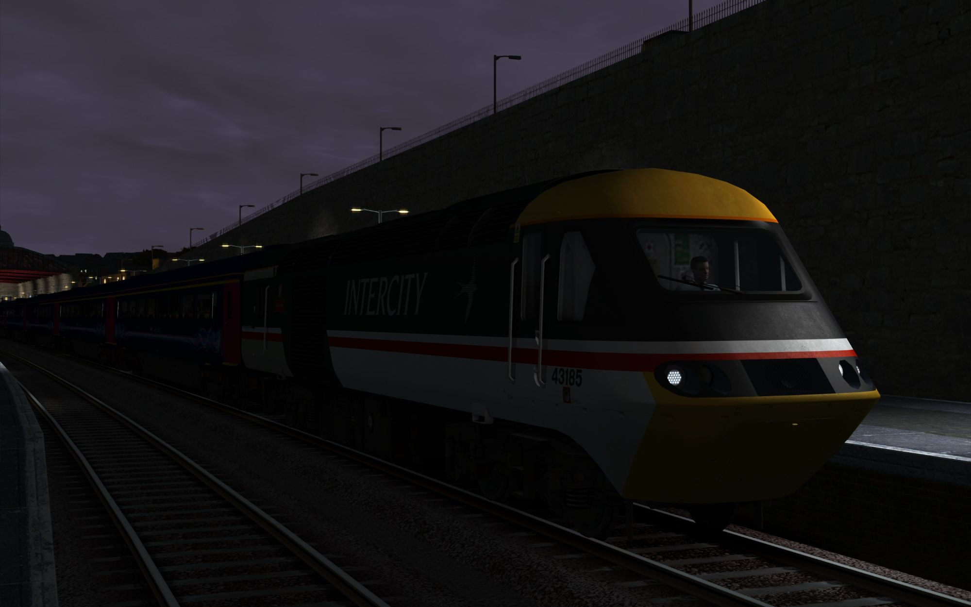 Image showing screenshot of the 1A77 - 0541 Penzance to London Paddington scenario