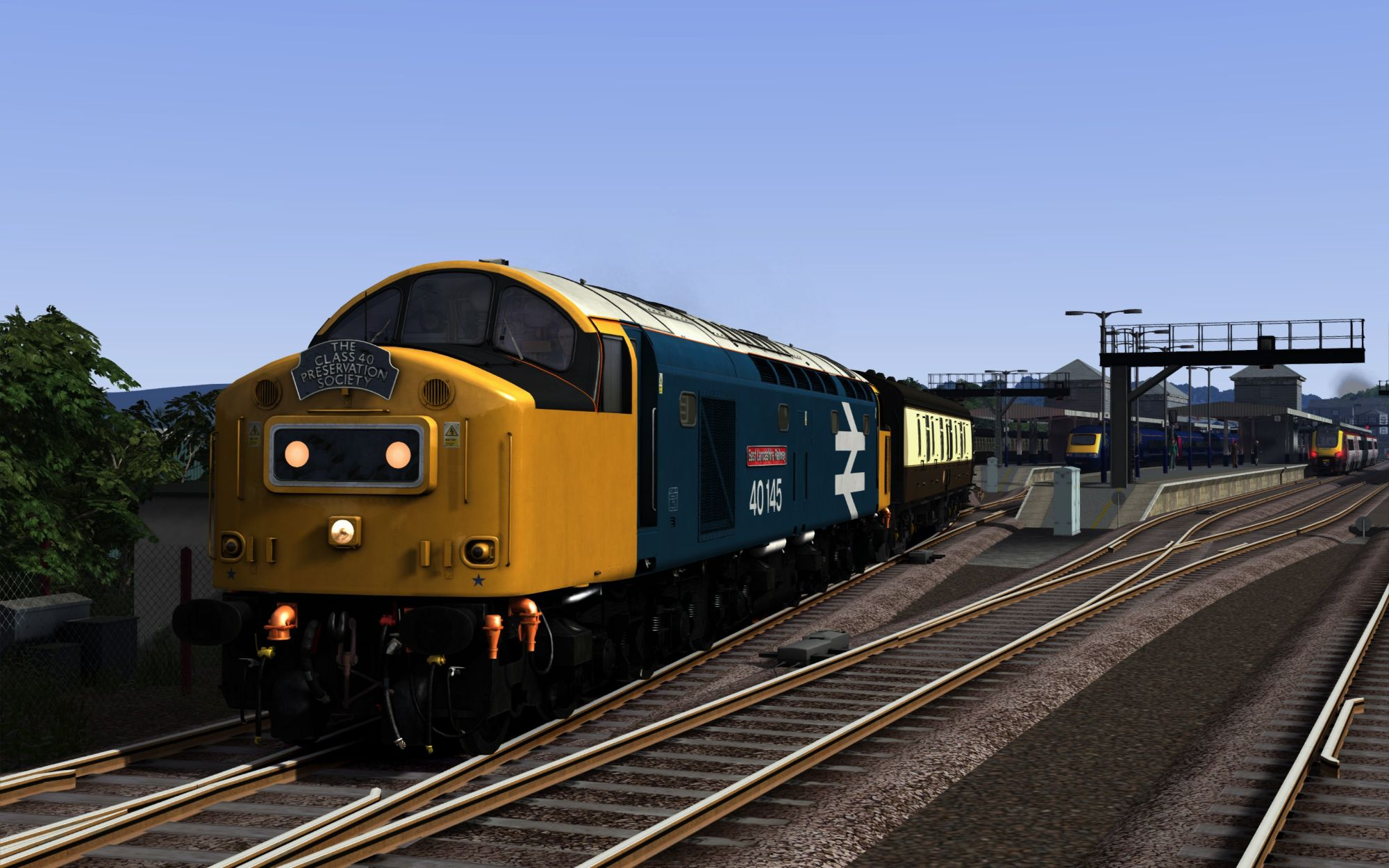 Image showing screenshot of the 1A77 - 0541 Penzance to London PaddiImage showing screenshot of the 1Z37 - 0547 Portsmouth Harbour to Penzance scenariongton scenario