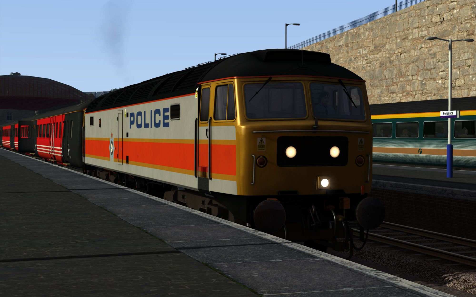 Image showing screenshot of the 1A77 - 0541 Penzance to London PaddiImage showing screenshot of the 1M56 - 0848 Penzance to Manchester Piccadilly scenario