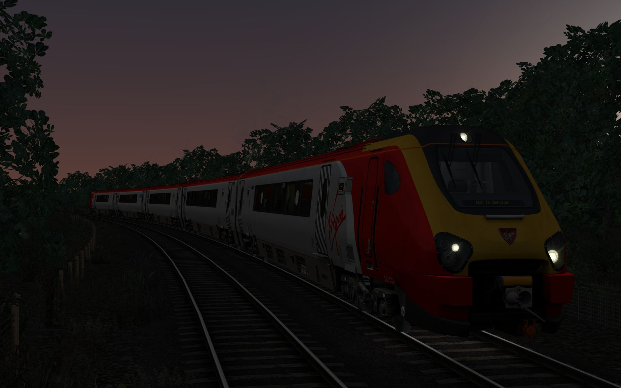 Image showing screenshot of the 5K32 - 2110 Wrexham General to Crewe CS scenario