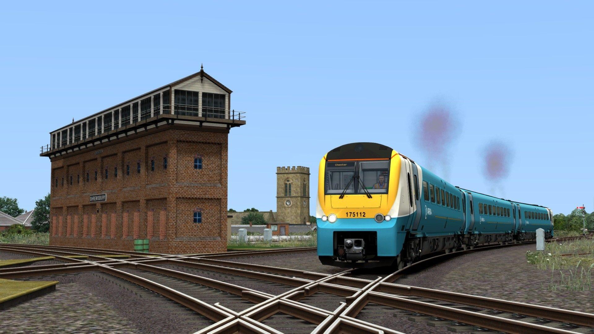 Train Simulator Welsh Marches Newport to Shrewsbury