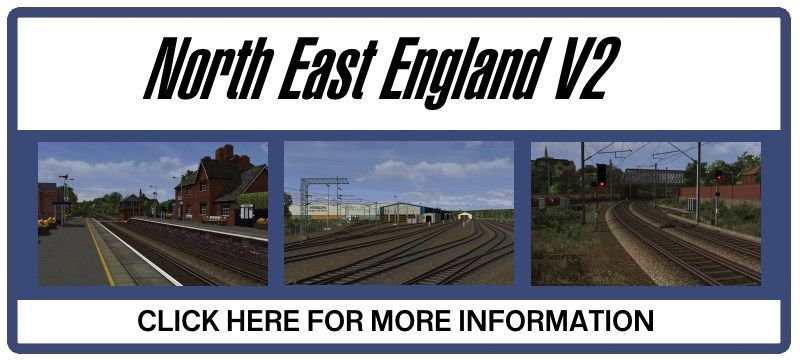 Clickable image taking you to the route page for North East England V2