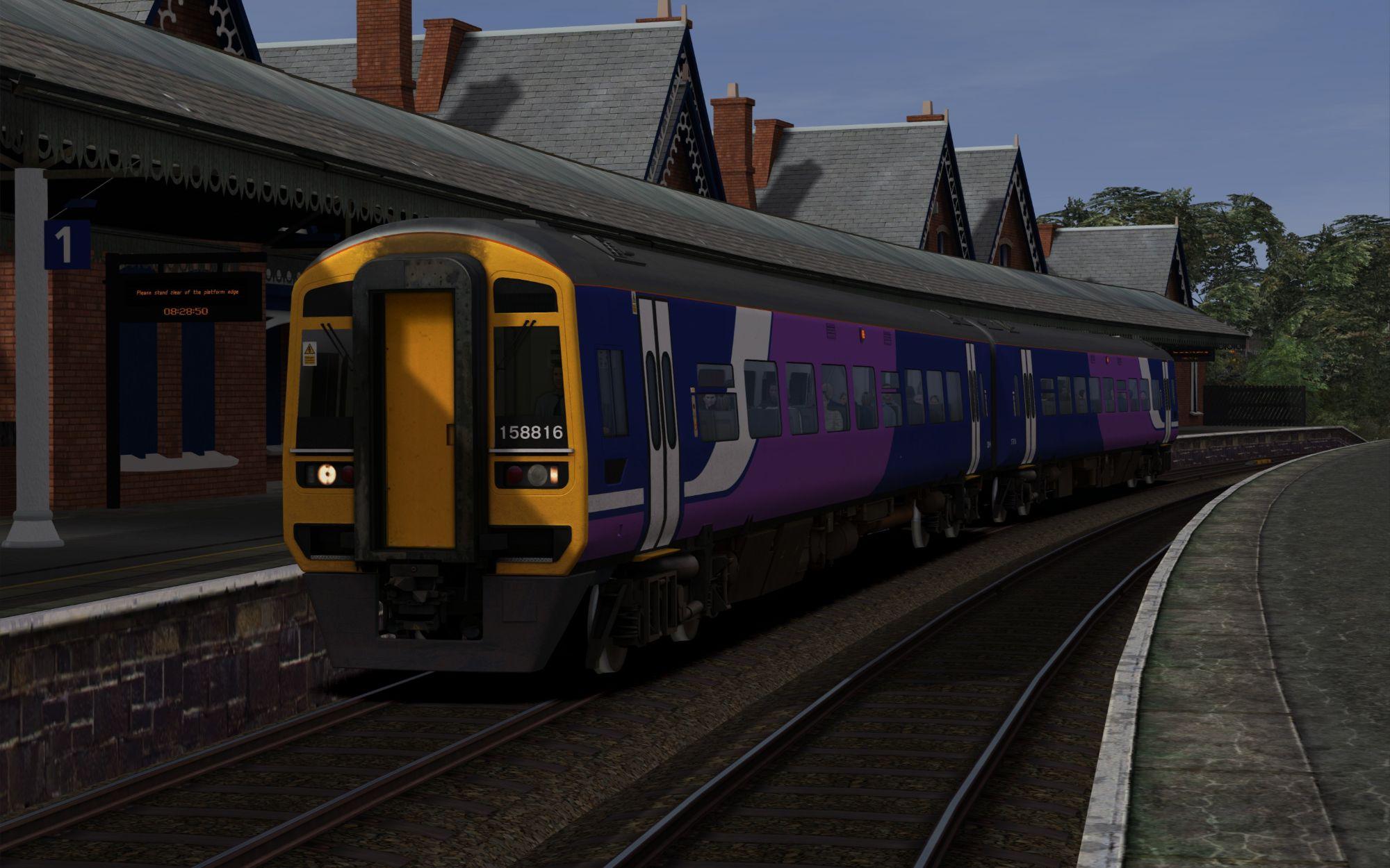 Image showing screenshot of the 2N08 - 0544 Carlisle to Nunthorpe scenario