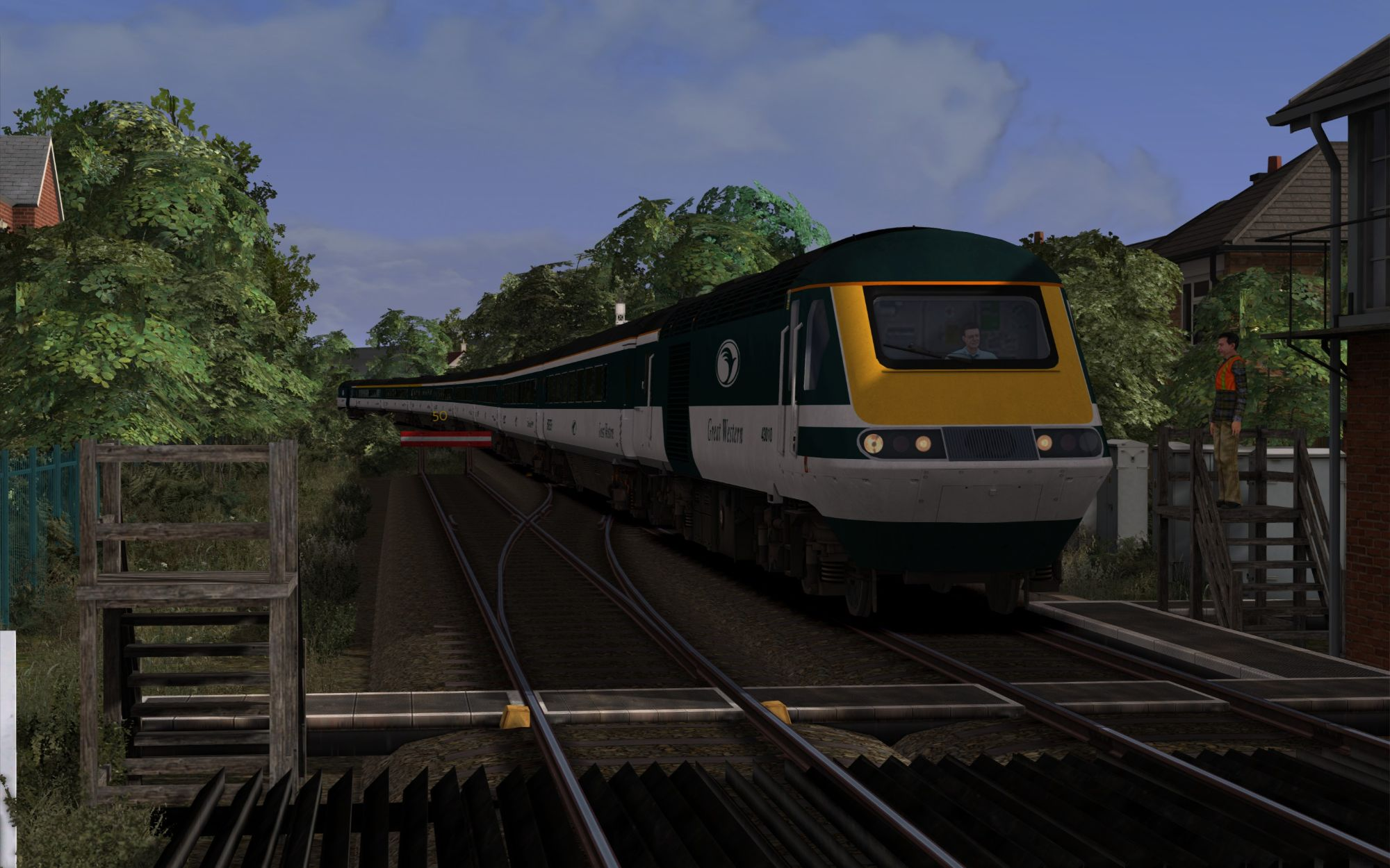 Image showing screenshot of the 1G70 - 1713 Whitby to Ealing Broadway scenario