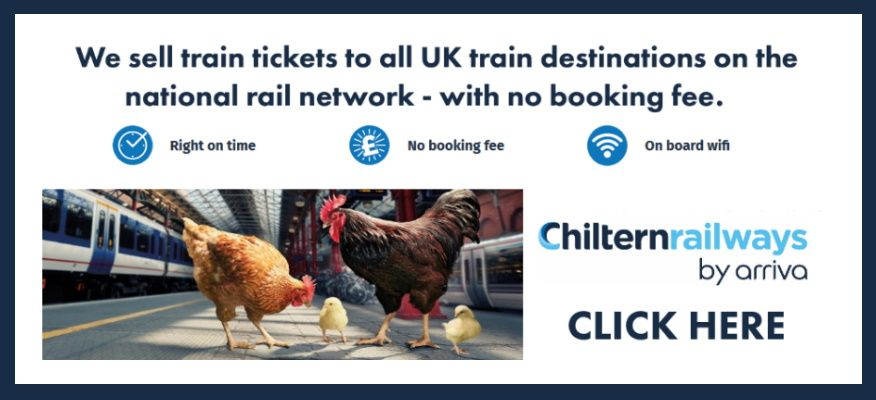 Clickable image taking you to the Chiltern Railways website