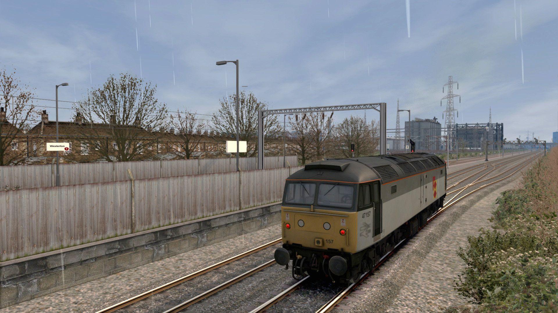 Train Simulator Totham: Passengers,  Power & Freight