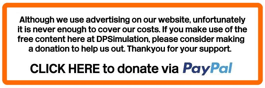 Clickable image taking you to the DPSimulation donation page at Paypal