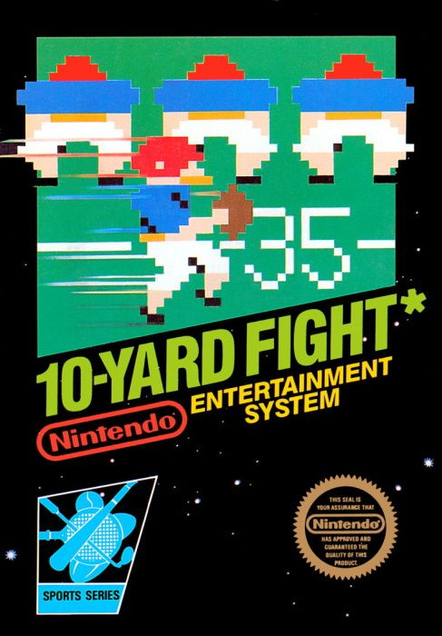 Clickable image taking you to the page for 10-Yard Fight NES
