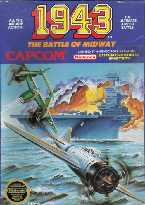 Clickable image taking you to the page for 1943: The Battle of Midway NES