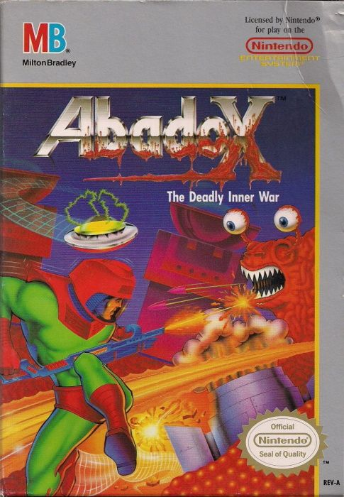 Image showing the Abadox box art