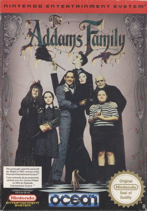 Image showing the The Addams Family box art