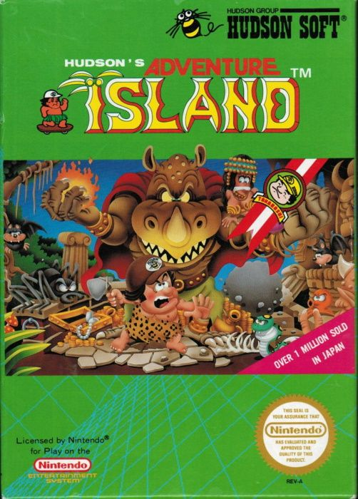 Clickable image taking you to the page for Adventure Island NES