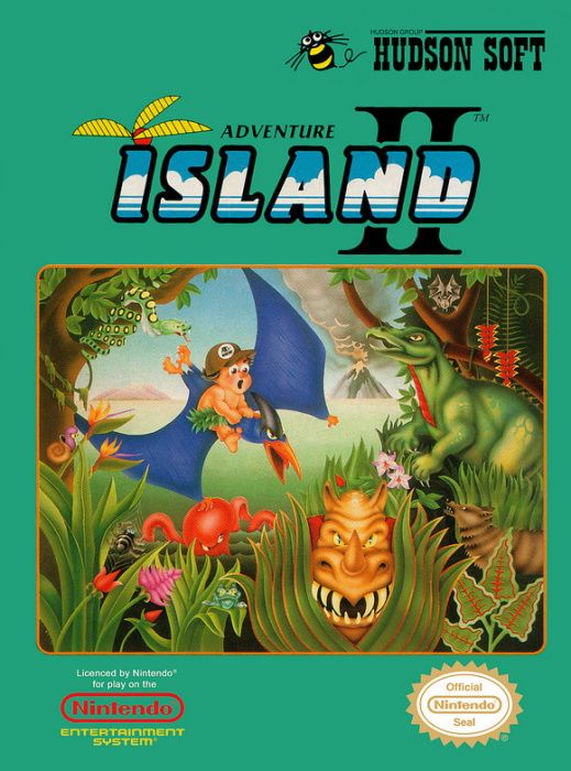 Clickable image taking you to the page for Adventure Island II NES