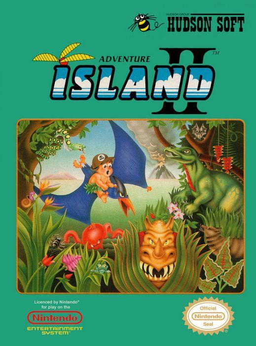 Image showing the Adventure Island II box art