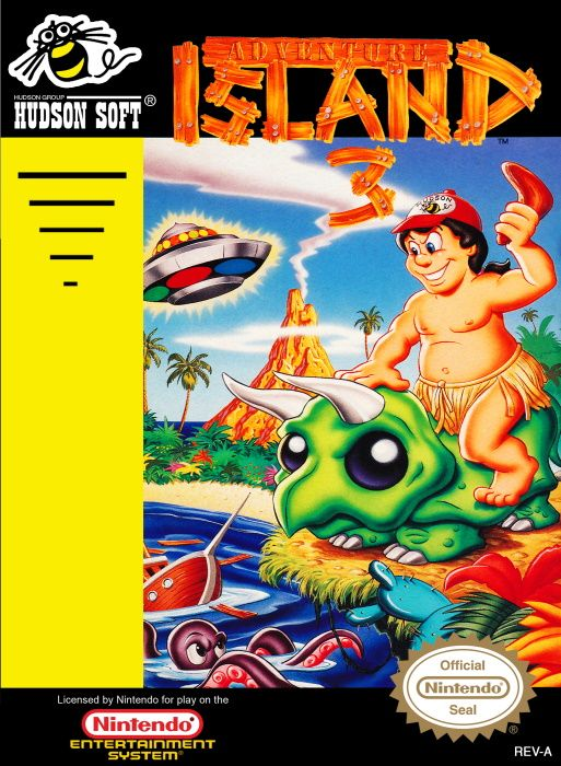 Image showing the Adventure Island 3 box art