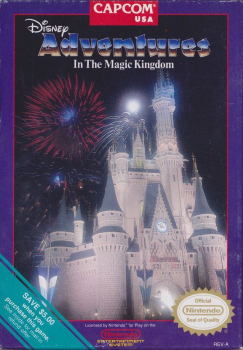 Image showing the Adventures in the Magic Kingdom box art