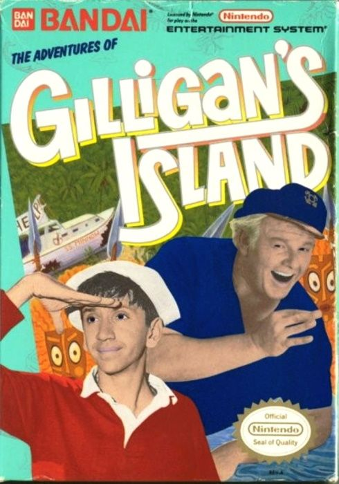 Image showing the Adventures of Gilligan's Island box art