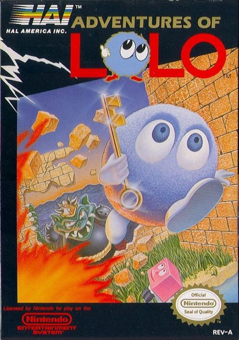 Image showing the Adventures of Lolo box art