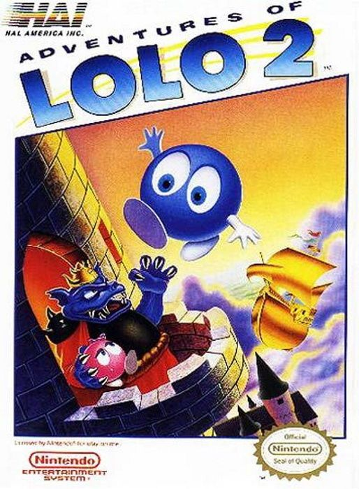 Image showing the Adventures of Lolo 2 box art