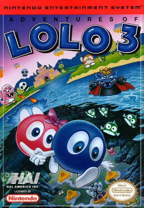 Clickable image taking you to the page for The Adventures of Lolo 3 NES