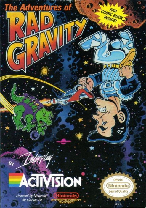 Clickable image taking you to the page for The Adventures of Rad Gravity NES