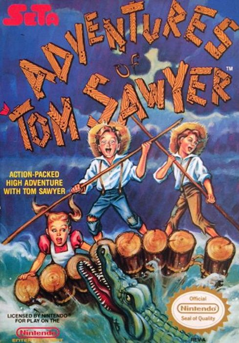 Image showing The Adventures of Tom Sawyer box art