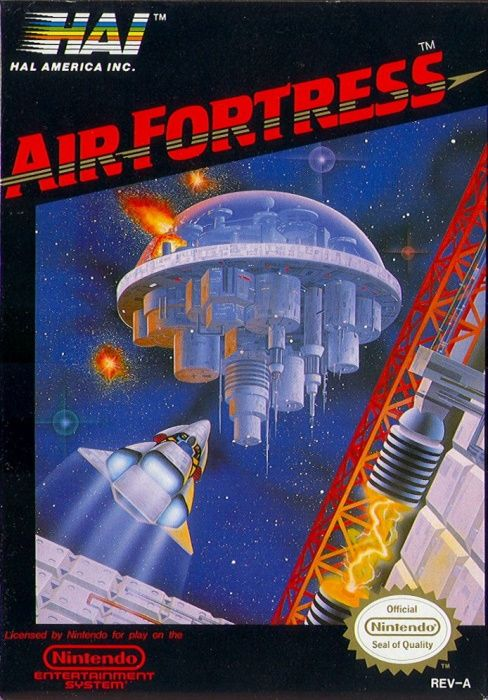 Clickable image taking you to the page for Air Fortress NES