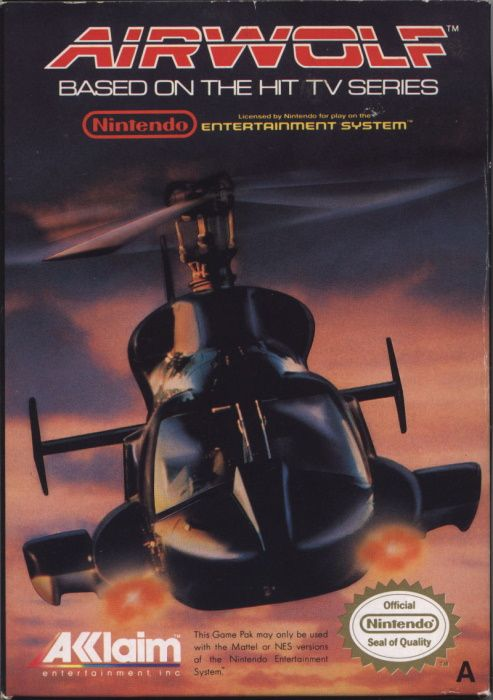 Image showing the Airwolf box art